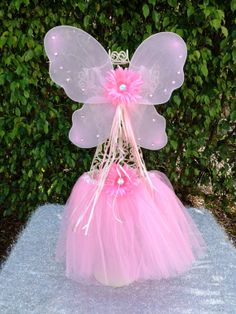 Pink Fairy Princess Tutu and Fairy Wings Dress Up by partiesandfun, $17.00. Also check out my shop for more fun party favor ideas. www.partiesandfun.etsy.com