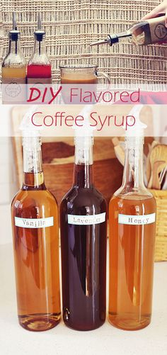HURRY! HURRY! HURRY! We need tpo make these QUICK! Just think-NO preservatives, no manufacturing cost, no shipping cost. We can feel good about ourselves while pampering ourselves! DIY Flavored Coffee Syrups