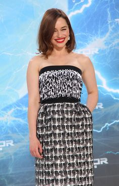 Emilia Clarke stunned at the premiere of Terminator: Genisys in Berlin! See all the gorgeous snaps.