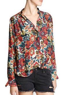camisa floral Francisca