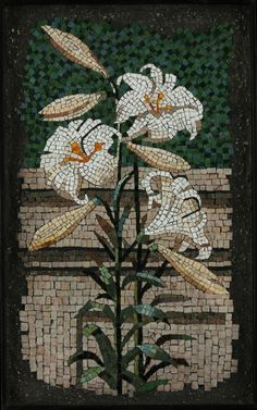 Mosaics based on Nature in stone, smalti and glass; original and commissioned mosaics