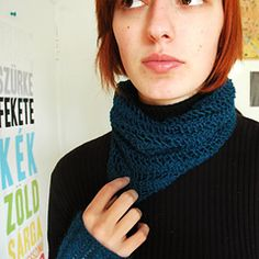 Ravelry: One Row Lace Scarf