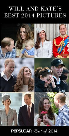 The best Will and Kate pictures of the year 2014!