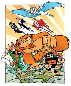 """Marvel Comics characters """"Alpha Flight"""" by J Bone. I loved John Byrne's version, but I'd read this version in a heartbeat!"""