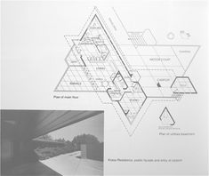 "Stromquist Residence/ ""Crystalwood"". Bountiful, Utah. 1958. Frank Lloyd Wright. Usonain Style."
