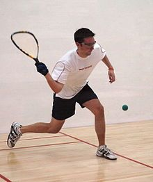 Hit around a racquetball as hard as you can and imagine it's the thing causing you stress.