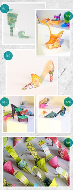 Paper + shoes .... the only combination that could possibly out score would be Paper + Handbags! By Carlos N. Molina