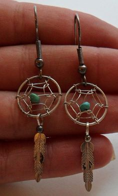 Native American Dream Catchers | Sterling Silver Native American Dream Catcher ... | Vintage Sterling ...