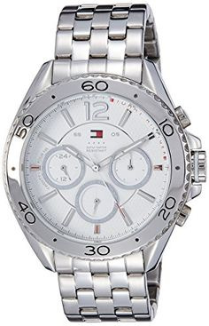 Men's Wrist Watches - Tommy Hilfiger Mens 1791032 Stainless Steel Watch ** You can find out more details at the link of the image.