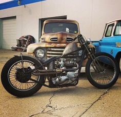 Bobber Inspiration - Bobbers and Custom Motorcycles Triumph Chopper, Triumph Bikes, Bobber Bikes, Bobber Chopper, Cool Motorcycles, Triumph Motorcycles, British Motorcycles, Steampunk Motorcycle, Brat Motorcycle