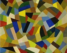 Page: Untitled  Artist: Otto Freundlich  Completion Date: 1938  Style: Abstract Art  Genre: abstract painting (DETAIL)