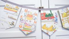 images about garlands banners and buntings for