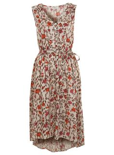 another dress to drop in the dress bin. i love the length for those casual and slightly windy days were the warmth of the sun beats down and the wind blows the hem gently around your calves .