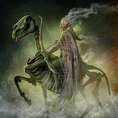 Pestilence by DougSirois. Find this Pin and more on the four horsemen . Apocalypse Art, Horsemen Of The Apocalypse, Apocalypse Tattoo, Theme Tattoo, Skull Artwork, Angels And Demons, Grim Reaper, Gothic Art, Skull Art