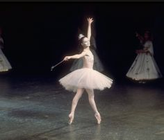 """Suzanne Farrell as the Sugar Plum Fairy, in a New York City Ballet production of """"The Nutcracker."""""""