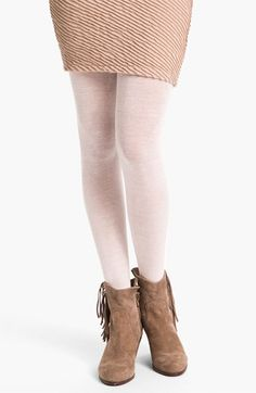 Nordstrom 'Love' Sweater Tights (color: charcoal, size: c/d)