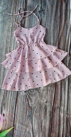 32 ideas diy ropa vestidos bebe for 2019 Baby Girl Dress Patterns, Baby Dress Design, Baby Girl Frocks, Frocks For Girls, Fashion Kids, Baby Girl Fashion, African Dresses For Kids, Little Girl Dresses, Kids Dress Wear