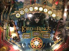 Lord of the Rings pinball, one of the top ten games of all time.