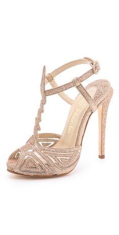 Max Kibardin Franca Glitter Heels | SHOPBOP | Use Code: EXTRA25 for 25% Off Sale Items