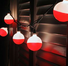 Fishing Bobber Party Lights #Lights, #Party, #String