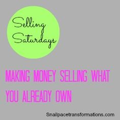 An on going series of tips on how to sell what you already own.