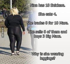 It's basic math