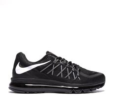 Nike Air Max 2015 Trainer | Black / White | Footasylum