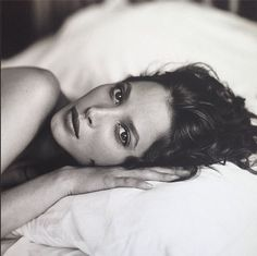Christy Turlington by Sante D'Orazio Vogue Italia, 1993