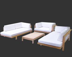 Cabo collection daybeds for front patio