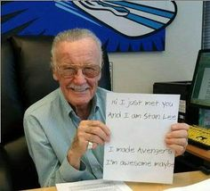 Stan Lee is AMAZING!!
