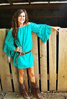If u r a cowgirl.......this is ur style!!!!!!!Cute...............I am a cowgirl this is to dressy for me