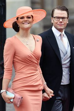 Crown Princess Victoria of Sweden and Prince Daniel (another future queen; she'll be queen by birth, not marriage.)