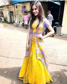 Image may contain: 2 people Pakistani Gowns, Pakistani Formal Dresses, Pakistani Wedding Outfits, Pakistani Dress Design, Indian Dresses, Indian Outfits, Shadi Dresses, Indian Anarkali, Eid Outfits
