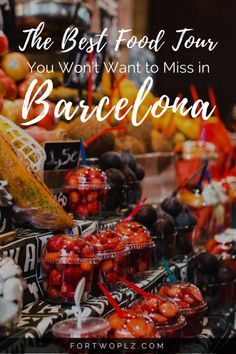 Travel Spain | Barcelona | Food Tour | Spanish Cuisine | Tapas Bar