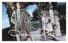 Daria Strokous and Sasha luss for Oscar de la Renta - Spring 2015