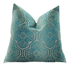 Hey, I found this really awesome Etsy listing at https://www.etsy.com/listing/119923175/designer-blue-pillow-turquoise-peacock