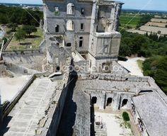 Montmajour abbey, Provence, France