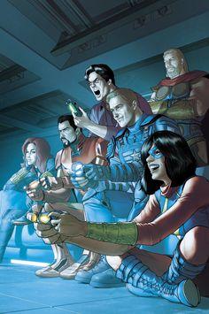Marvel Avengers Games, Avengers Earth's Mightiest Heroes, Marvel Comics Superheroes, Marvel Art, Marvel Heroes, Marvel Characters, Captain Marvel, Dc Comics, Marvel Comic Universe