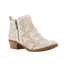 Women's Lucky Brand Basel Bootie ($100) ❤ liked on Polyvore featuring shoes, boots, ankle booties, casual, casual shoes, ankle high boots, ankle boots, round toe boots, low heel ankle boots and black bootie boots
