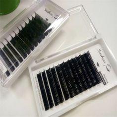Latest Individual Eyelash Extension Handmade False Eyelashes Natural Black Eyelashes Free Shipping