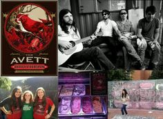 So cool, my niece Meredith (in the far left, bottom picture) with her friends, Kimmi, and Annie. True Avett Brother fans! Now they made it on Avett Brothers Home page for the Cherrywine Give Back Concert Live online. How cool is that to have your picture chose for something like this and music artist you really like?!
