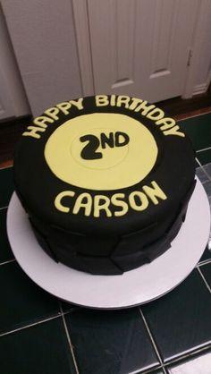 Amy's Crazy Cakes -Tire Cake