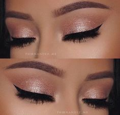 When it comes to eye make-up you need to think and then apply because eyes talk louder than words. The type of make-up that you apply on your eyes can talk loud about the type of person you really are. Makeup Goals, Makeup Inspo, Makeup Inspiration, Makeup Ideas, Makeup Hacks, Makeup Tutorials, Cute Makeup, Pretty Makeup, Sweet 16 Makeup