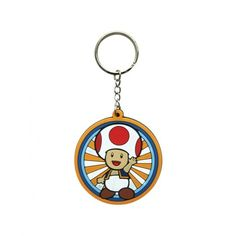 Super Mario Toad Rubber Keyring from Gamerabilia £3.99