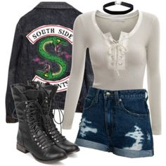 South Side Serpent Inspired Outfit