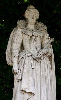 Paris, Jardin du Luxembourg, Maria de Medici, 1600 - 1617