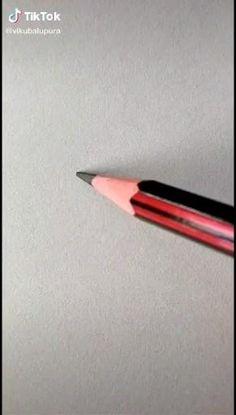 Cool Pencil Drawings, Cute Easy Drawings, Art Drawings For Kids, Art Drawings Sketches Simple, Hand Art Kids, 3d Art Drawing, Doodle Art Designs, Diy Canvas Art, Diy Art