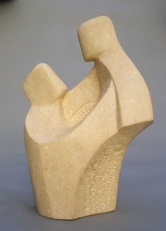 Interior Sculpture in Ancaster Stone by John Brown.