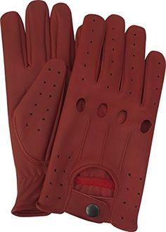 A K Leather Men's Unlined Lambskin Soft Leather Fashion Driving Gloves (Medium, Red) A K LEATHER http://www.amazon.com/dp/B01220VMUW/ref=cm_sw_r_pi_dp_fvIwwb1HK90XB