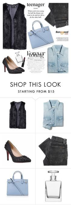 """""""Banggood 6"""" by mihreta-m ❤ liked on Polyvore featuring Madewell, Nudie Jeans Co., Kurt Geiger, LSA International, NARS Cosmetics, women's clothing, women, female, woman and misses"""